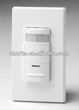 Dual technology sensor switch with Push-button Manual Override Control