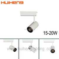 Wholesale price movable led 15w 20w ceiling track light