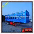 Tri-axle storehouse dry cargo box semi trailer used for cargo transportation hebei CHANGHUA brand