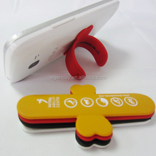 Factory price high quality custom design mini slap silicone mobile cell phone holder display stand