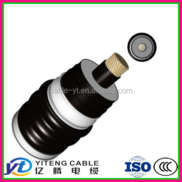 1x300 mm XLPE insulation PVC sheath copper tape screen steel wire armoured copper power cable