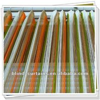 multicolor line curtain
