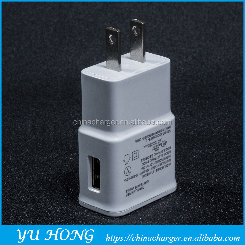 single-port usb smartphone usb charger for samsng note2 s4
