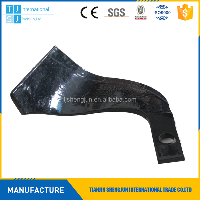 china manufacture type C no58 60Si2Mn best quality for tiller blade india
