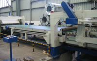 1350mm SS coil cut to length production line