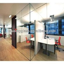 BL 8mm 10mm 12mm thickness low price standard customs size tempered partition glass