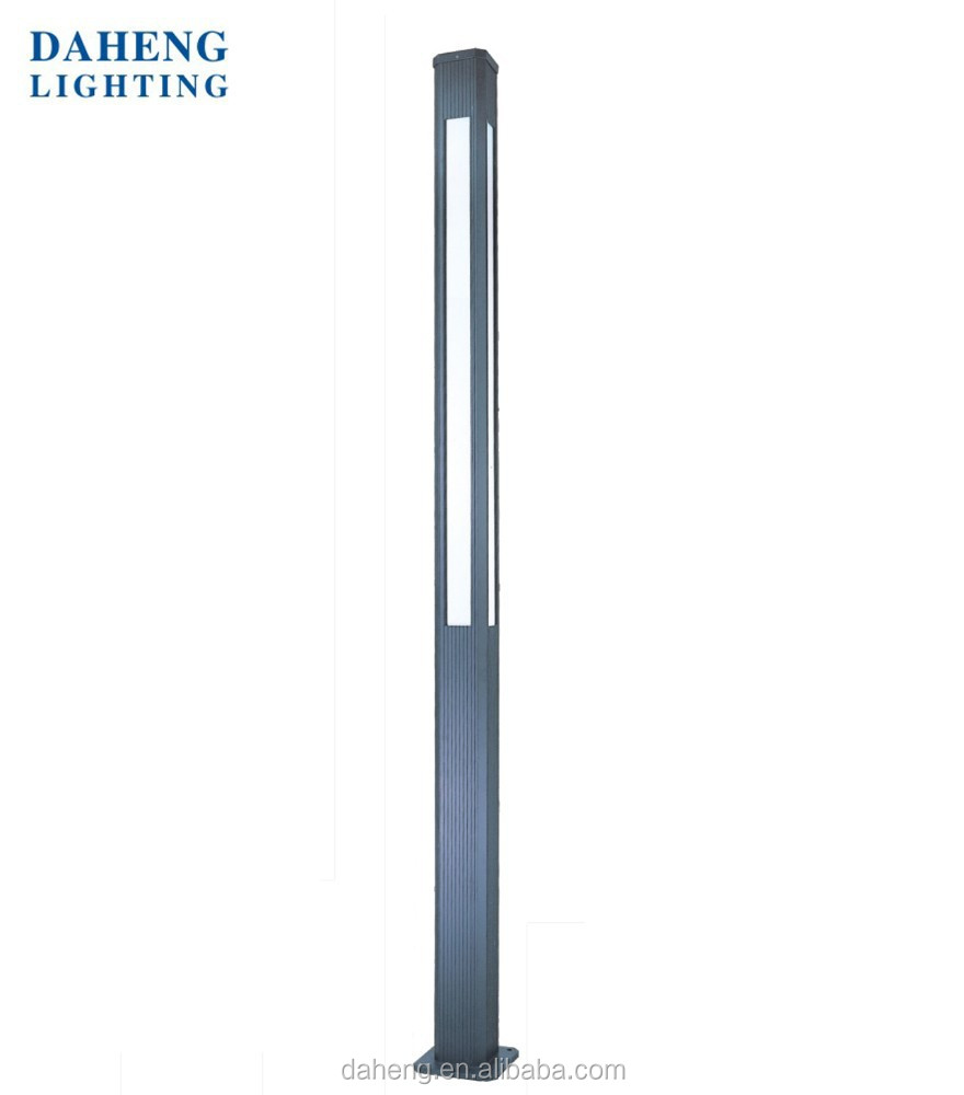 3-4M Aluminum Modern Outdoor LED Garden Pole Light