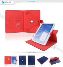 Leather stand case cover universal glass tablet pc case for samsung galaxy tab 2 p3100