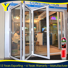USA hot sale aluminium bifold door and lowes storm doors