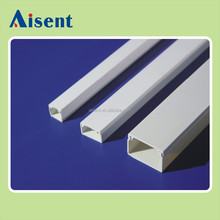 Good quality pvc electrical wire protective square casing