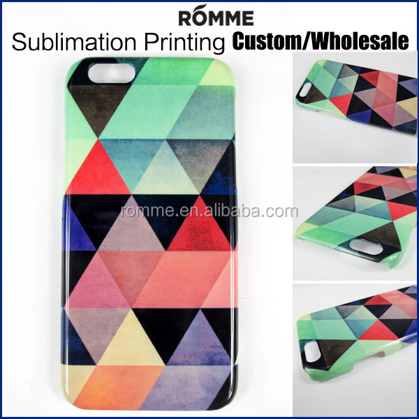 Sublimation Printing Manufacturer Wholesale customized mobile phone case 3d cell phone case printing for iphone 6 case