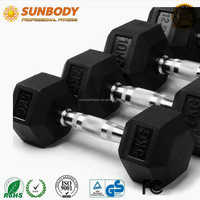 Cheapest Rubber Hex Dumbbells Set 1