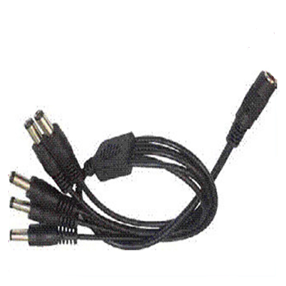 5.5mm Way For CCTV Cameras 2.1mm Power Splitter Cable DC Adapter 2//4//6//8