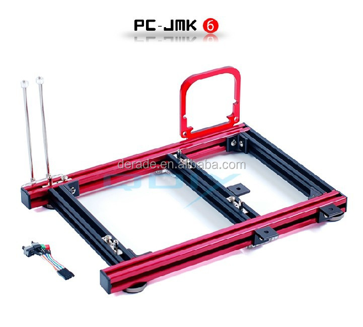 PC-JMK6 ATX Aluminum Alloy Horizontal Full Open Computer Chassis Computer Case OEM
