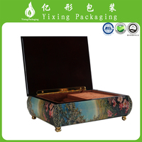 high quality classic design beautiful custom wooden boxes for decorating