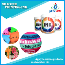 High glossiness high quality silicone screen printing ink
