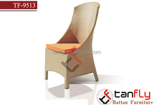 TF-9513C Factory Manufacturer Direct Wholesale, resin rattan wicker high back chair
