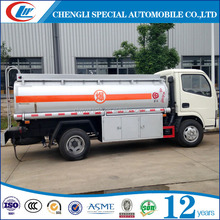 DongFeng 5CBM Fuel Tanker Truck Bowser Truck 5000L Mini Oil Dipensing Truck For Sale