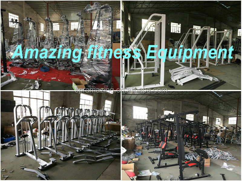 Top quality Assisted Chin up and dip station Guangzhou Yijin Sports Equipment manufacturer pin loaded exercise machine AMA 9923