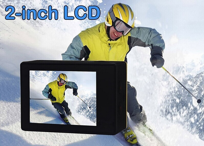 Slow motion recording Waterproof sports action camera 4k 360 vr camera wifi 4k