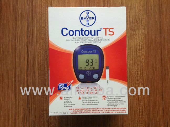 CONTOUR TS GLUCOSE METER