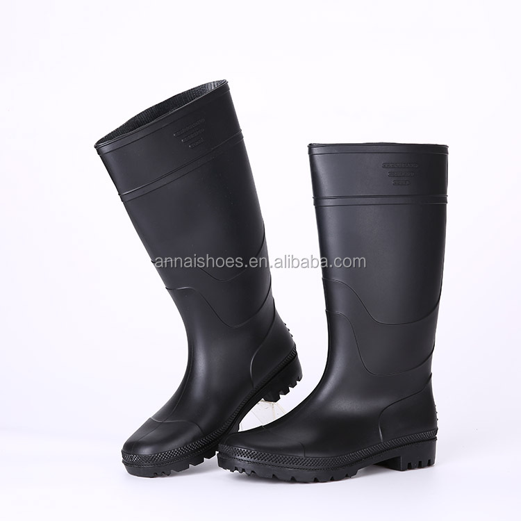2016 Fashion colorful pvc rain boots without steel toe, pvc rain boots price