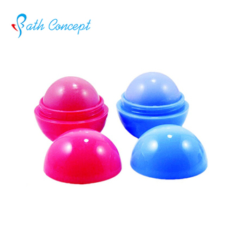 OEM moisturizing round shaped mini lip balm