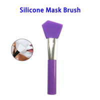 Colorful Cosmetic Makeup Tool Face Silicone Mask Applicator Brush