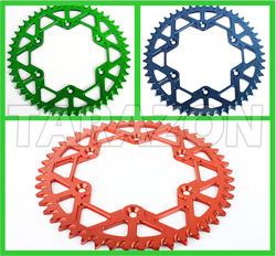 Motorcycle Part 7075 Aluminium Alloy Rear Sprockets for YAMAHA YZ80 85 125 500