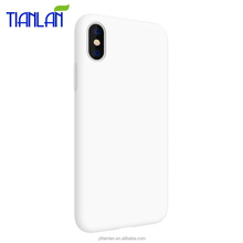 Crystal Clear Soft TPU Phone Case For iphone X