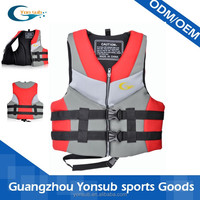 Good quality floating vest life jacket for adult with customized logo