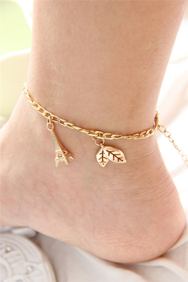 Mylove Gold Anklet Designs With Eiffel Tower Hot Selling. Sterling Silver Charm Anklet. Zircon Diamond. Cz Eternity Band. Tourmaline Diamond. 9 Gold Ankle Bracelets. Diamond Pendant Chains. Cute Jewelry. Small Necklace