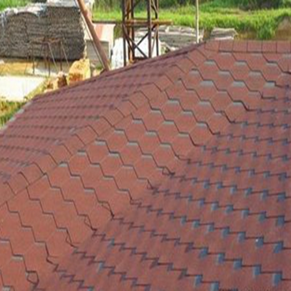 Flexible Roofing Material/ Blue Cheap bitumen Asphalt Roof Shingles Made in China