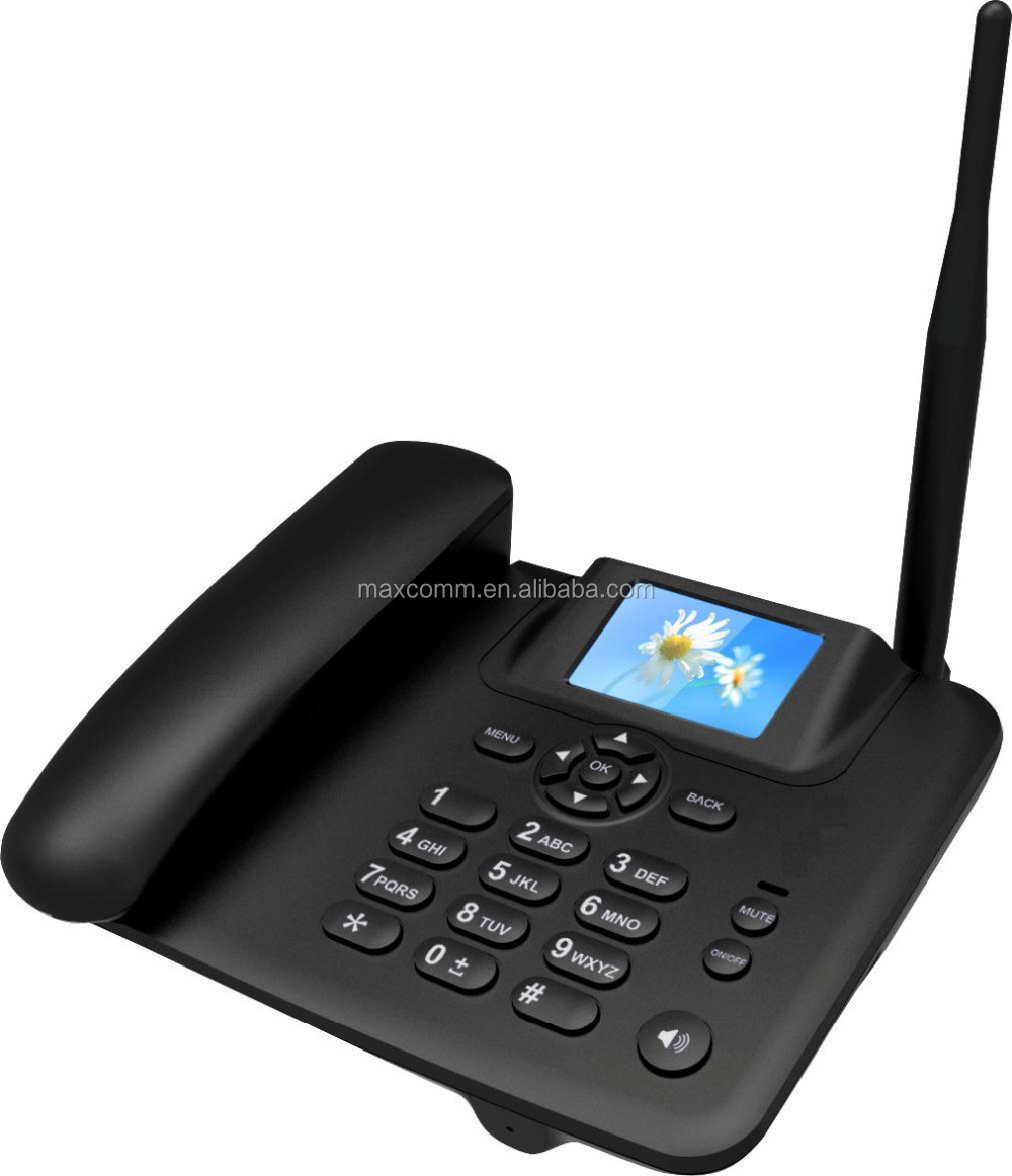 3G FWP FIXED WIRELESS PHONE with WiFi HotSpot, 2.4 inch color display, BLUETOOTH