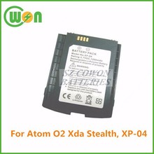 PDA batteries li ion battery 3.7v 1200mah replacement batetry for Atom XP-04 O2 Xda Stealth, high quality replacemen