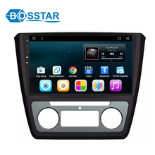 Bosstar wholesale price car DVD GPS navigation multimedia stereo player for SKODA YETI 2016