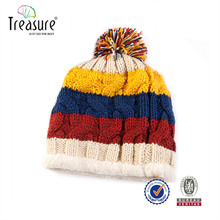 Fashion Beanie Knitted Winter Earflap Bluetooth Cap Hat for Lady