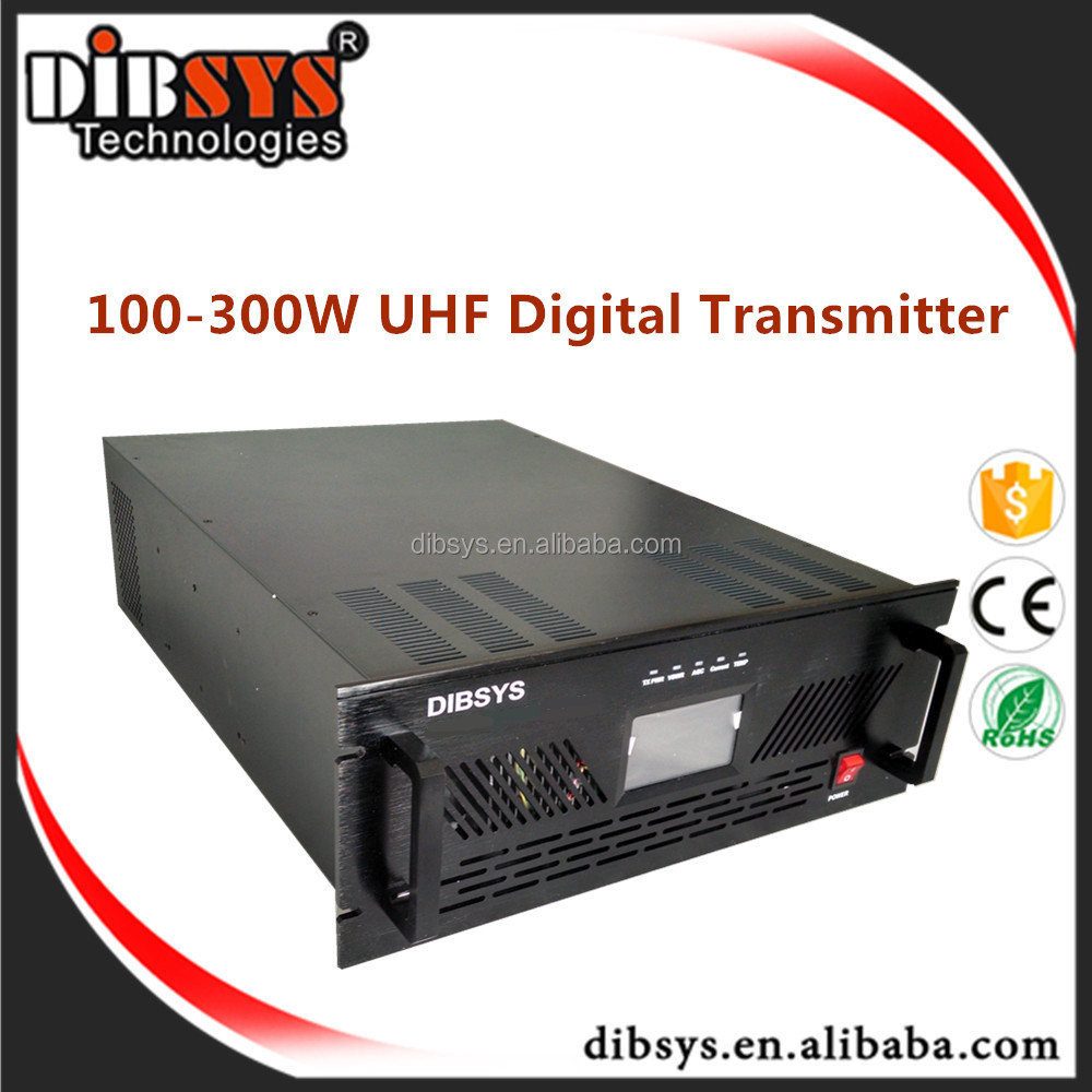 300w video digital tv mmds uhf transmitter,mpeg2/h.264 encoder hdmi to rf modulator isdb-t/dvb-t/atsc antenna slot