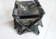folding chair folding plastic folding chair folding camping chair+BAG fan color