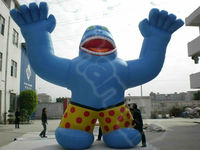 Gorilla Inflatable Cartoon model in 2013 for sale