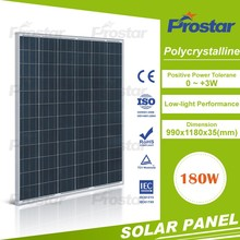 high quality best price poly 12v 180w 36 cells solar panel home use Monocrystalline Silicon Solar Panel