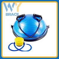 Bodybuilding Gym equipment 45cm PVC bosu ball bosu balance trainer Half Gym Ball