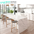2018 The Latest Marble Imitation Artificial Quartz Stone Counter top
