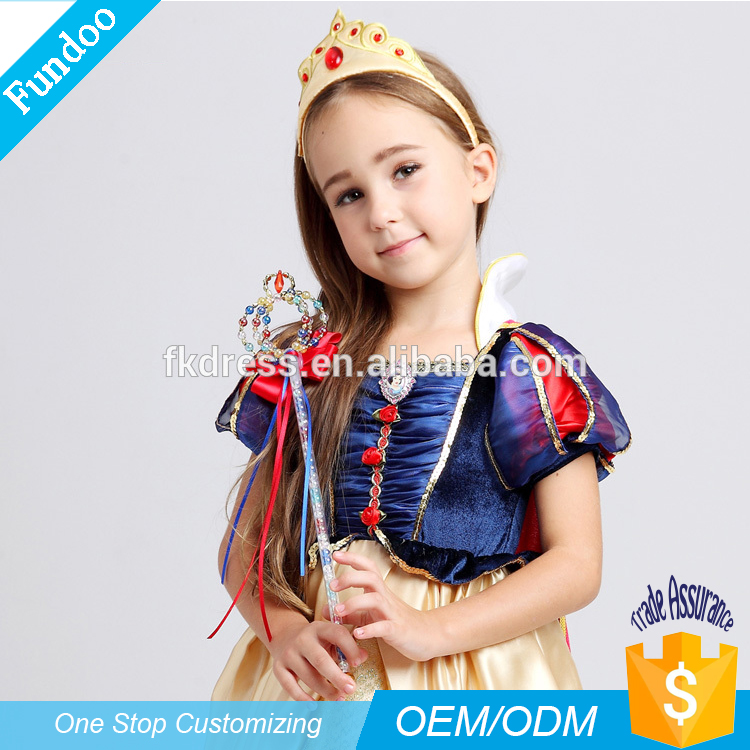Top Sale Halloween party Sexy Children Movies Snow White costume for Children