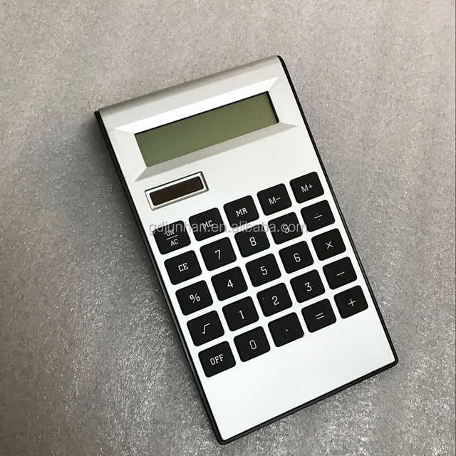 Factory Directly L style 8 12 digit solar scientific calculator with best price
