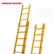Insulating FRP trestle ladder, easy operation, high quality