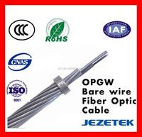 Overhead OPGW Optic Fiber Earth Wire