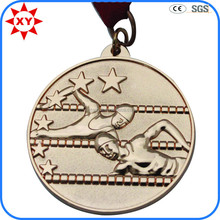 Alibaba China custom sports medals swimming for swimming match