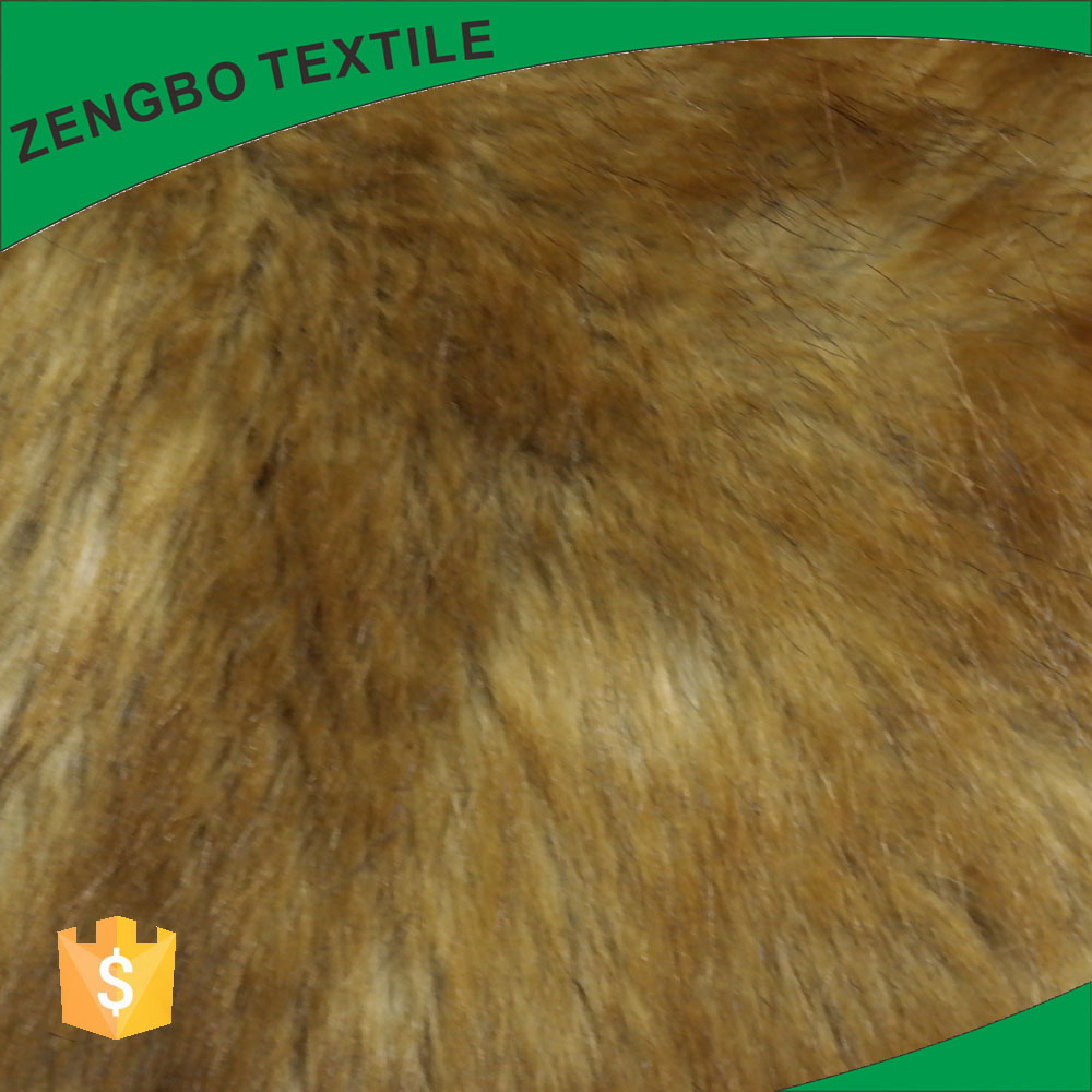 Buy wholesale polyester faux fur plush fabric for making clothes