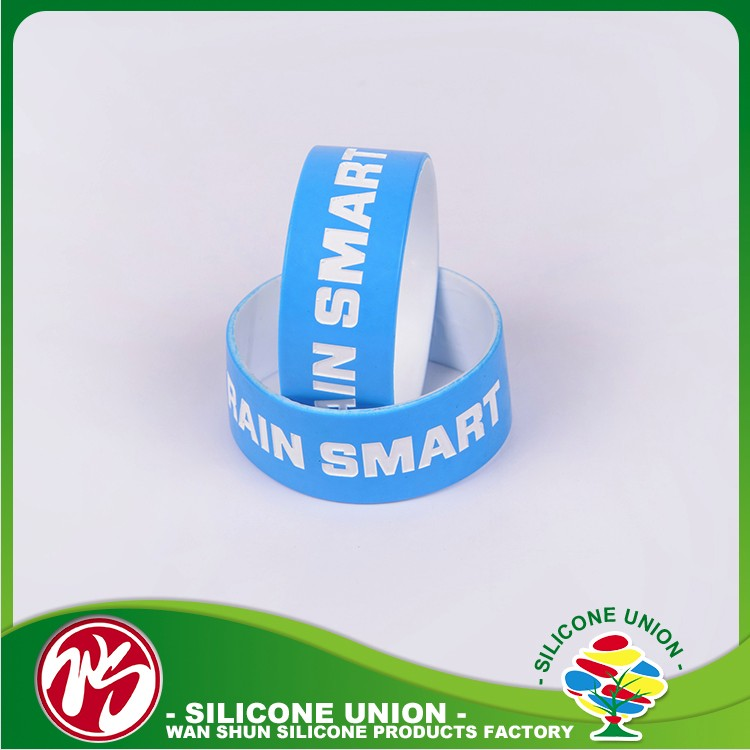 Rubber smart customized adjustable bangle